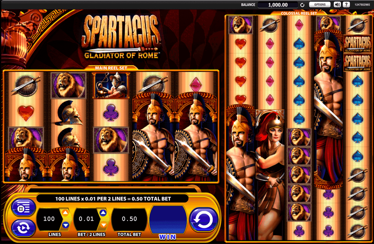 machine a sous spartacus